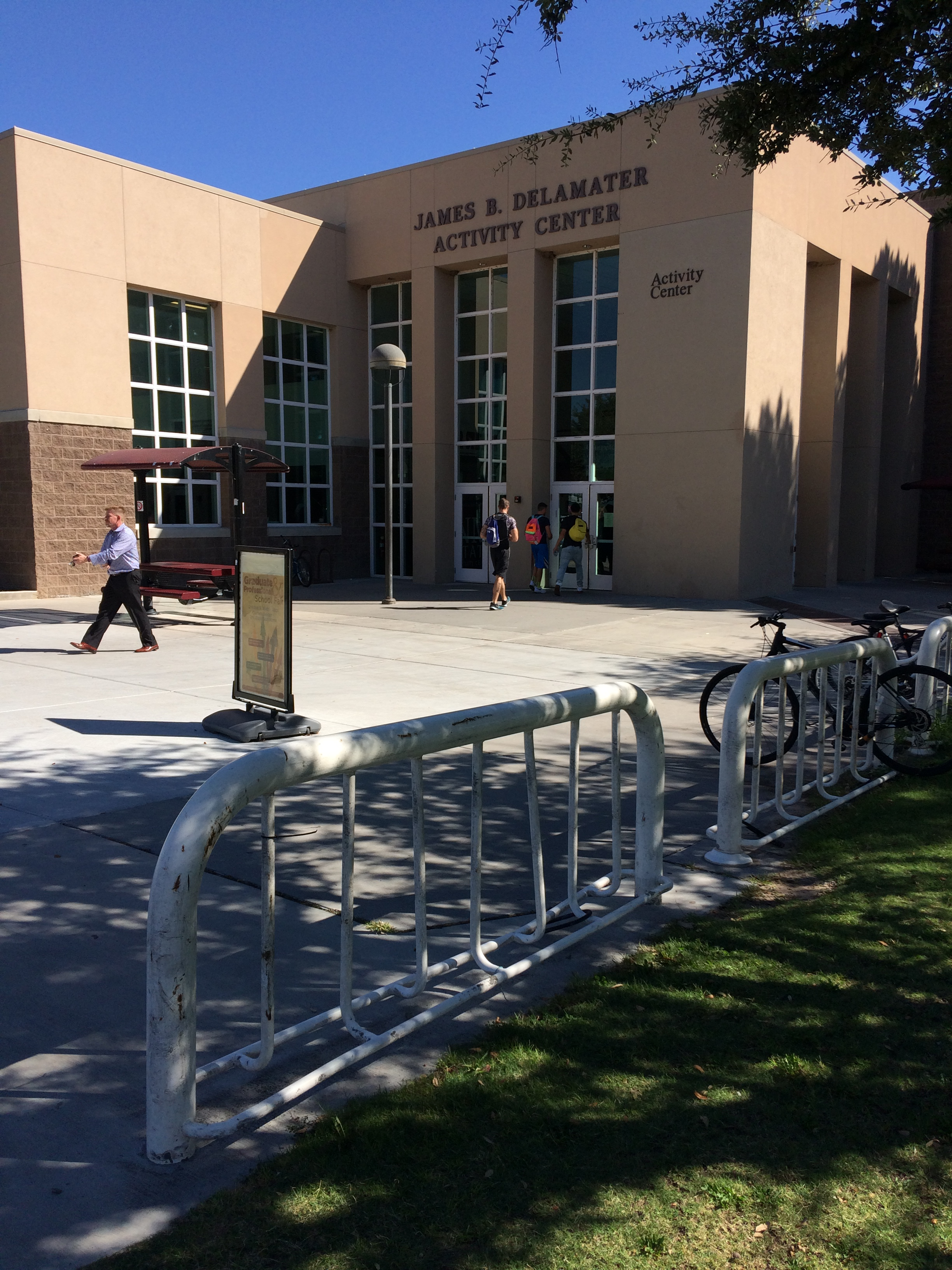 Updated Bike Racks, Activity Center